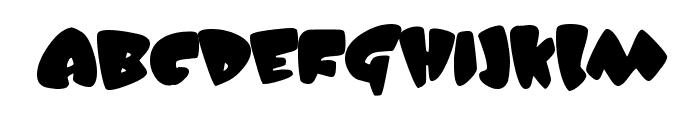 JellyBelly Font UPPERCASE
