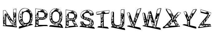 Jellyfish 3d Regular Font UPPERCASE
