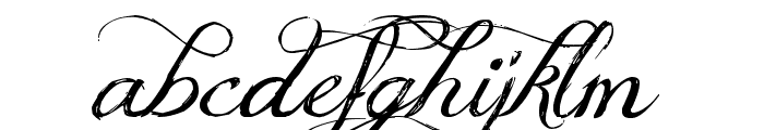 Jellyka Delicious Cake Font LOWERCASE