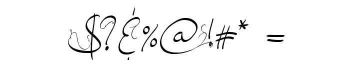 Jellyka, End_less Voyage Font OTHER CHARS