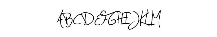 Jellyka - Estrya's Handwriting Font UPPERCASE