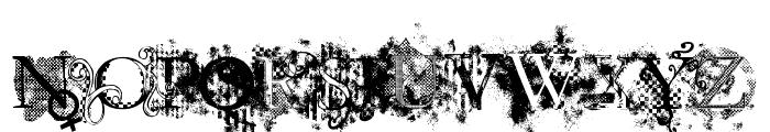 Jellyka  Evan & Estrya Font UPPERCASE