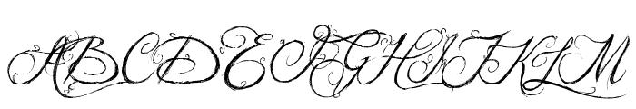Jellyka King's Hat Font UPPERCASE