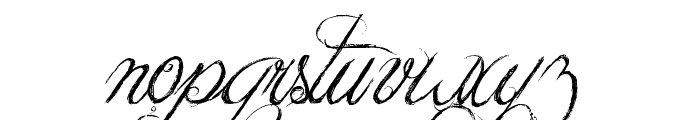 Jellyka King's Hat Font LOWERCASE
