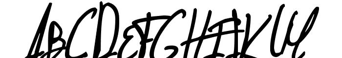 Jellyka - Nathaniel, a Mystery Font UPPERCASE