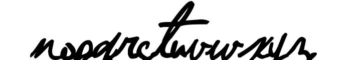 Jellyka - Nathaniel, a Mystery Font LOWERCASE