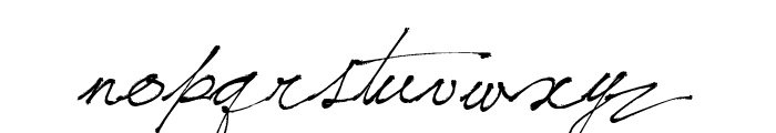 Jellyka, Saint-Andrew's Queen Font LOWERCASE