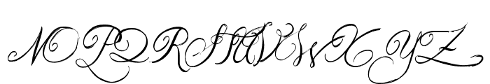Jellyka Western Princess Font UPPERCASE
