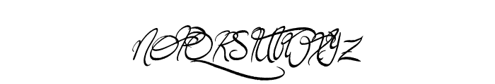Jellyka Wonderland Wine Font UPPERCASE