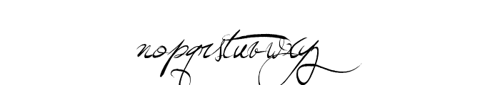 Jellyka Wonderland Wine Font LOWERCASE