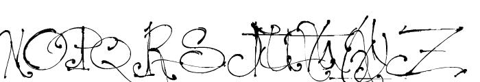 Jellyka - le Grand Saut Font UPPERCASE