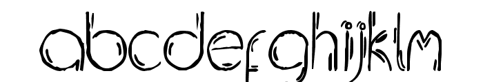 Jelusic Dizajn  Normal Font LOWERCASE
