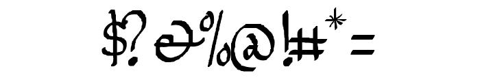 Jempol Font OTHER CHARS