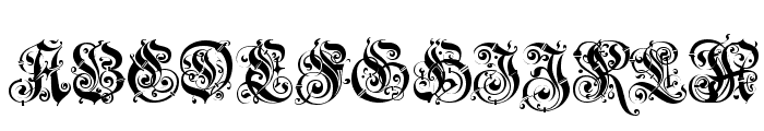 JenaGotisch Font UPPERCASE