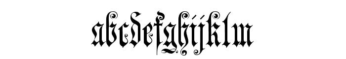 JenaGotisch Font LOWERCASE