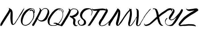 Jengmudy Font UPPERCASE
