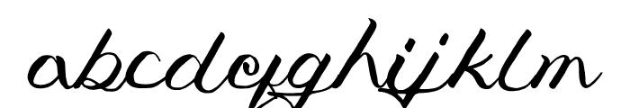 Jengmudy Font LOWERCASE
