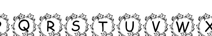Jenna s Kitties Font LOWERCASE