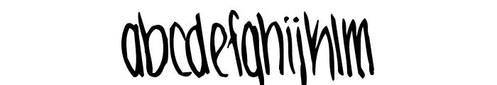 JennaBold Font LOWERCASE