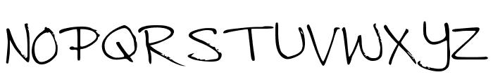 Jenny Font UPPERCASE
