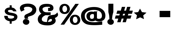 Jera Sans JL Font OTHER CHARS