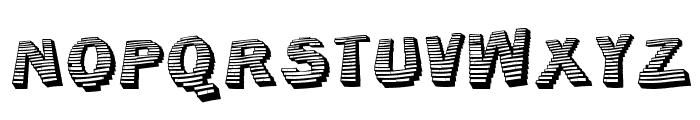 Jerrybuilt Font UPPERCASE