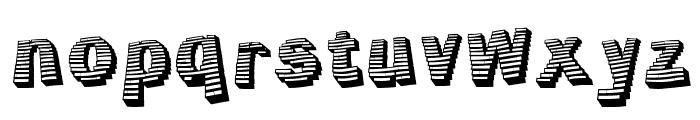 Jerrybuilt Font LOWERCASE