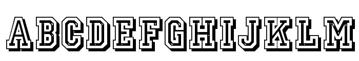 JerseyLetters Font LOWERCASE