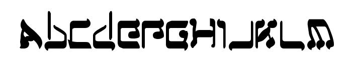 Jerusalem Bold Font LOWERCASE