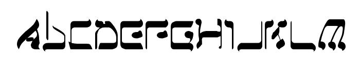 Jerusalem Font UPPERCASE