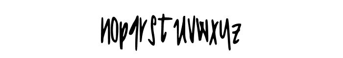 JessaPrint Font LOWERCASE