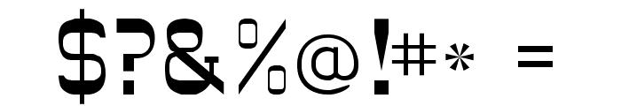 JesseJames Font OTHER CHARS