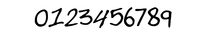 JesseThompsonsHandwriting-Regular Font OTHER CHARS