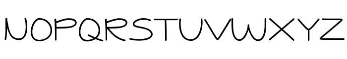Jessica Elaine Thin Font UPPERCASE