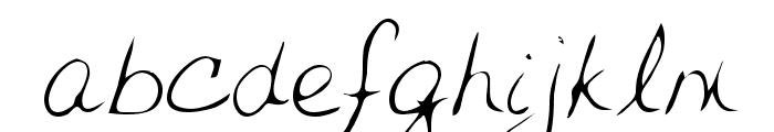 Jessica Regular Font LOWERCASE