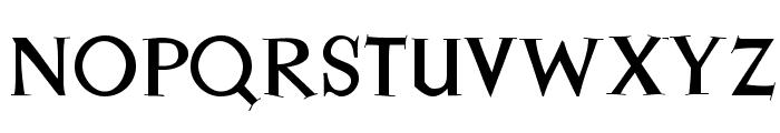 JessicaSerif Font UPPERCASE