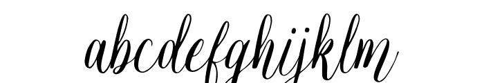 JessieOdelyaDemo Font LOWERCASE