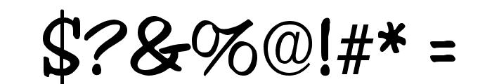 Jester Regular Font OTHER CHARS