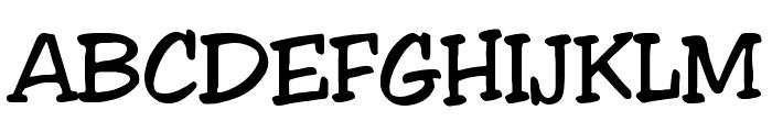 Jester Regular Font UPPERCASE