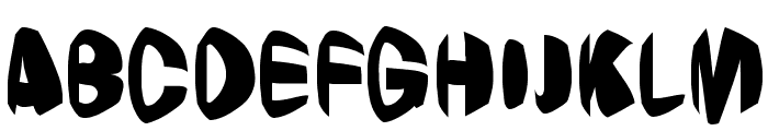 Jestering Font UPPERCASE