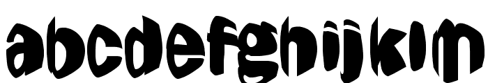 Jestering Font LOWERCASE