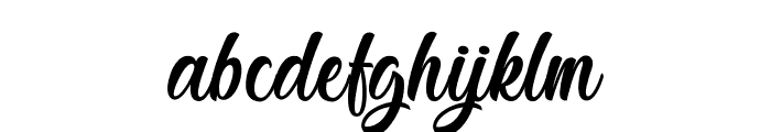 Jestho Fisher - Personal Use Font LOWERCASE