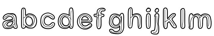 Jesuisdoublee Font LOWERCASE