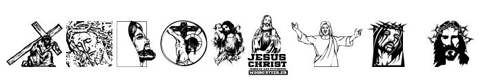 Jesus Christ Font OTHER CHARS