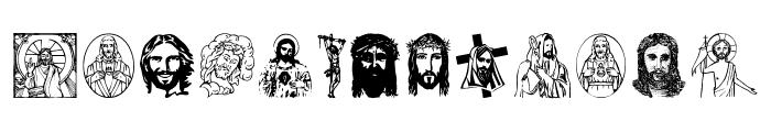 Jesus Christ Font LOWERCASE