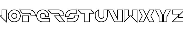 Jet Bradley Regular Font LOWERCASE
