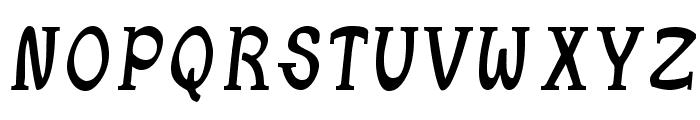 JetLag-MediumSerif Font LOWERCASE
