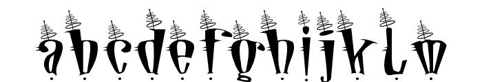Jetson Font LOWERCASE