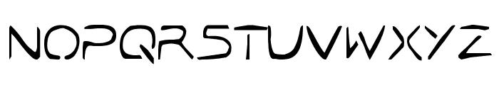 Jetta Tech Condensed Font UPPERCASE