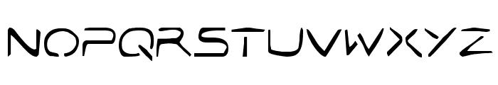Jetta Tech Condensed Font LOWERCASE